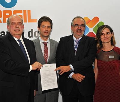 Entidades assinam a Carta das Águas de São Paulo, como parte da programação do Fórum Mundial da Água – Brasília 2018